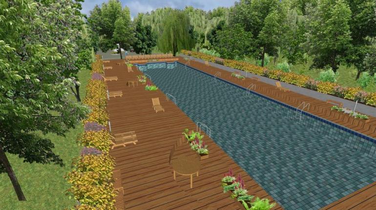 Проект рекреационной зоны на территории пруда «Пионерский» г. Ставрополя
